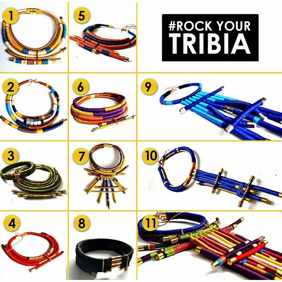 La première collection TRIBIA